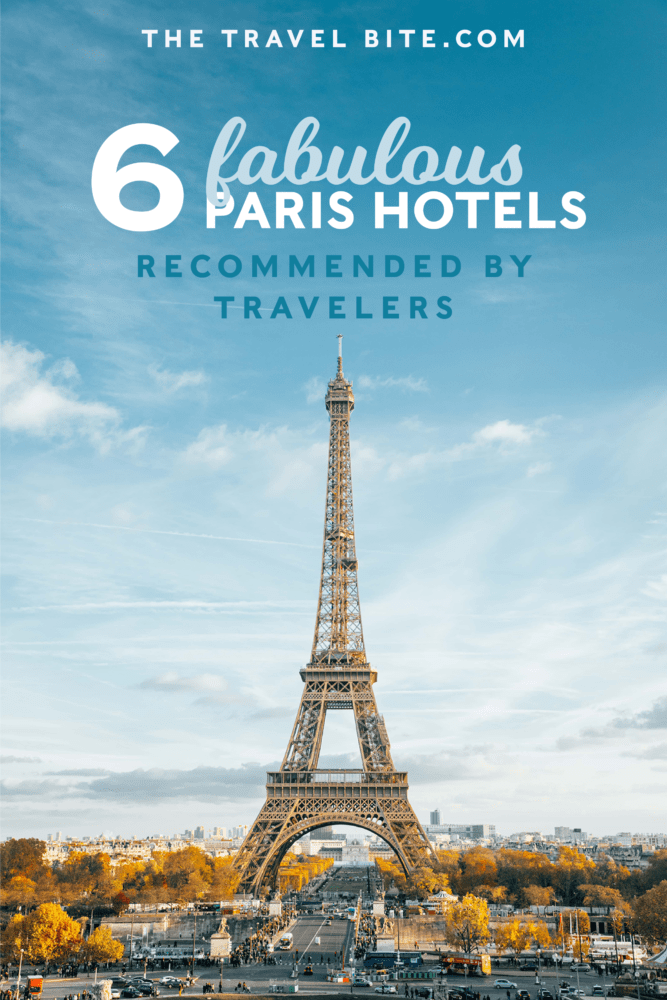 paris hotels recommended by travel bloggers