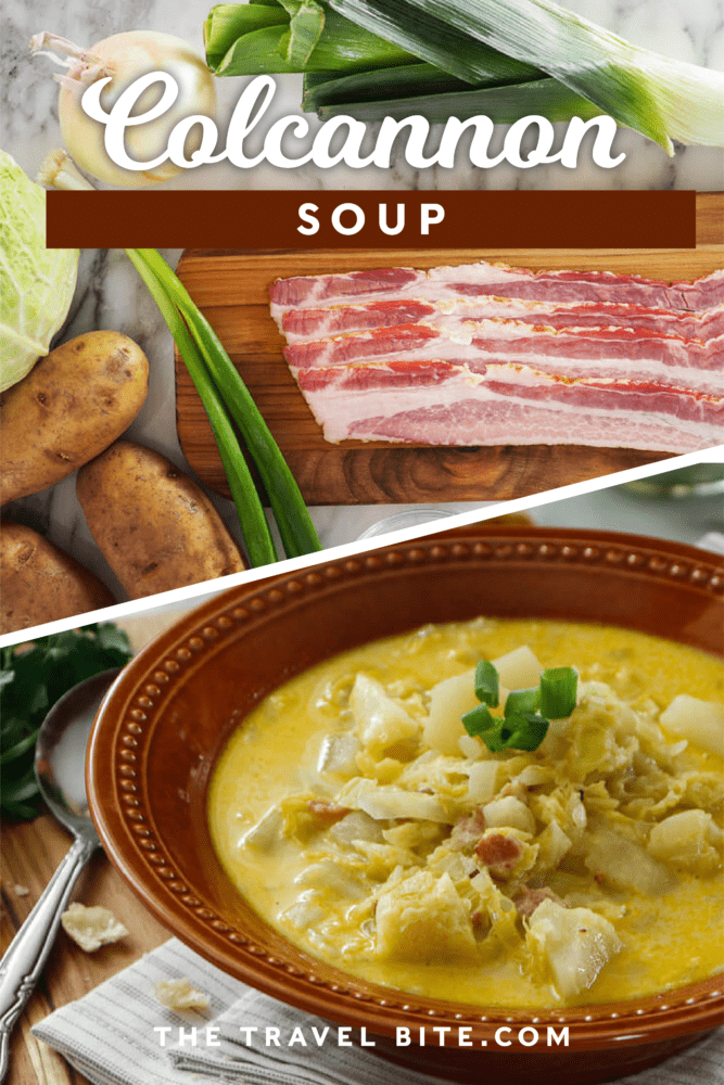 Irish Colcannon Potato and Leek Soup - TheTravelBite.com