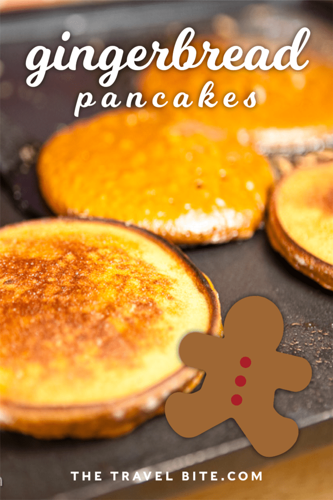 gingerbread pancake recipe - TheTravelBite.com