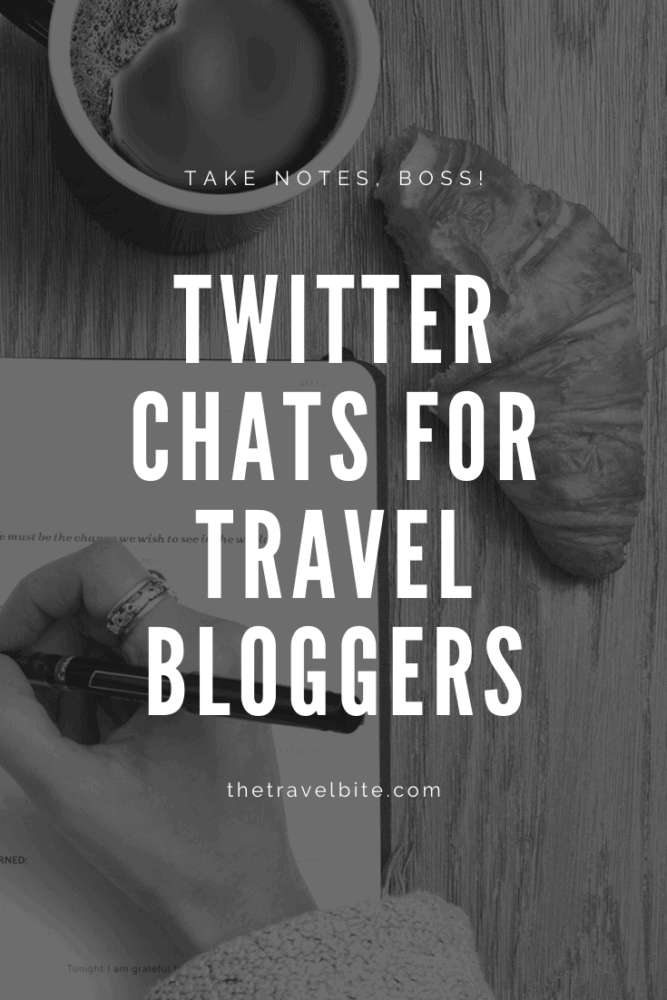 Top Twitter Chats For Travel Bloggers - TheTravelBite.com