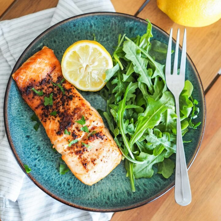 The BEST Air Fryer Salmon