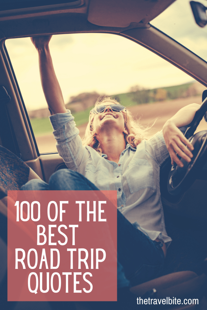 Road Trip Quotes Pin - Sitting In The Drivers Seat - TheTravelBite.com