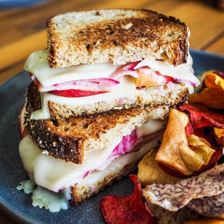 Apple Ham and Cheese Sandwich
